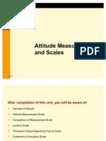 Attitude Measurement