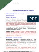 Borrador de la Reforma Laboral 2012