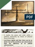 Theories of Punishment