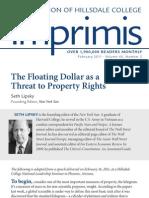 Let the Dollar Float