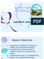 10. Understanding Dysfunction in the Family