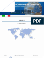 Rapporto-congiunto Italia Israele 1 Sem 2011