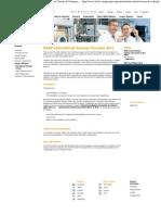 BASF International Summer Courses - BASF - The Chemical Company - Corporate Website