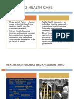 Financing Health Care