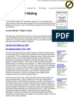 History of Gliding