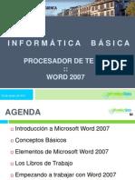 Presentacion Microsoft Word I