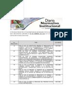 Diario Normativo Institucional (07 de Febrero de 2012)