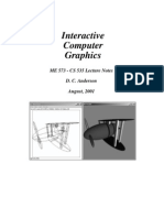 Interactive Computer Graphics Lesson 16
