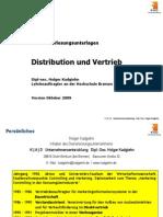 Distribution Und Vertrieb