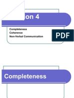 4 - Completeness and Coherence - No Answers