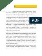 Don Quijote de La Mancha - Resumen
