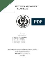 Paper Kuesioner Statistika
