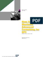 BPC Formating