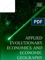 Applied Evolutionary Economics and Economic Geography