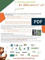 Pesticide Action Week Brochure