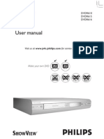 Manual Dvdr 615 Philips
