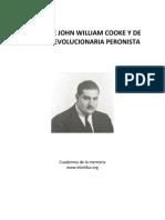 Textos de John William Cooke y de ARP