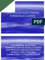 CENTRALES ELÉCTRICAS TERMONUCLEARES