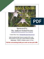 Orchid Show - Northampton MA - February 2012