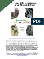 Fundamentos de la comunicación humana por Margaret DeFleur - Averigüe por qué me encanta!