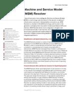 MSM Resolver DS