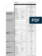 Evo VIII 260 Spec Sheet