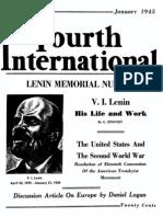 4th International - Lenin Memorial Edition 1945