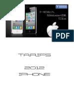 Tarifs iPhone