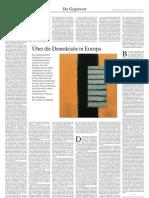 über die demokratie in europa
