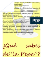CURSO PARA DESENMASCARAR LA PEPA, EN CADIZ, 10 Y 11 MARZO 2012