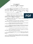 Amendment Assignment Form