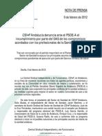 NP_9febrero_CSIF-A_SANIDAD