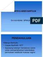 BARTOLINITIS& ABSES BARTOLIN