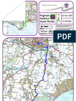 Pagham Harbour Cycle Route Map