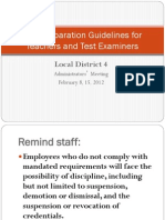 Test Preparation Guidelines for Teachers and Test Examiners0207[1]