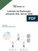 ReplicaçãoSQL2008