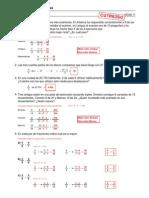 Refuerzo - Fracciones - Ejercicios (IV) Soluciones