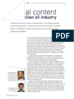 Local Content in Brazilian Oil Industry