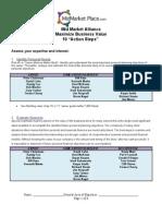 10 Action Steps Assessment Master