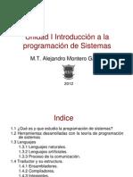 Introduccion a La Programacion en Sistemas