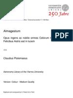 Claudius Ptolemaeus - Almagestum (1515)