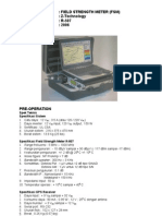 Field Strength Meter (FSM)