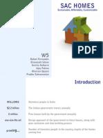 SAC Homes Workshop 1 - Presentation