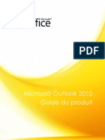 Microsoft Outlook 2010 Product Guide Final