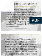 reseña historica de Tiquisate