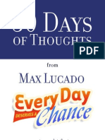 30 Days of Thoughts Max Lucado