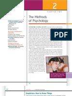 Methods of Psychology