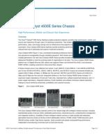 Cisco4500E Product Data Sheet