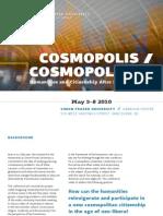 Cosmopolitics Program