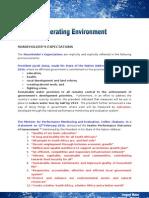 3 - Operating Environment
